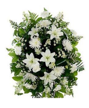 Comprar corona funeraria palma barata 79€