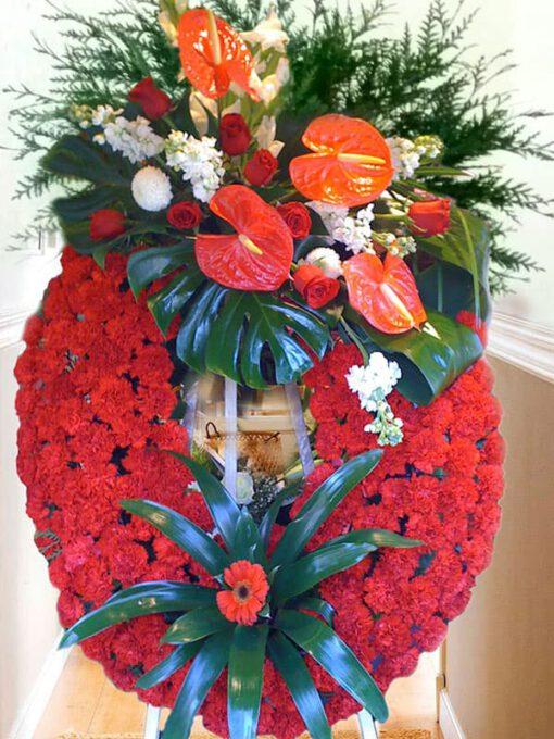 Corona Funeraria Rubi K5
